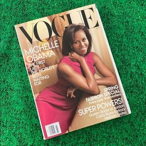 VOGUE magazine MICHELLE OBAMA March 2009